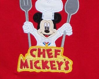 Chef Mister Mouse  applique patch