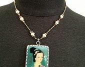 Asian Ladies Reversible Necklace