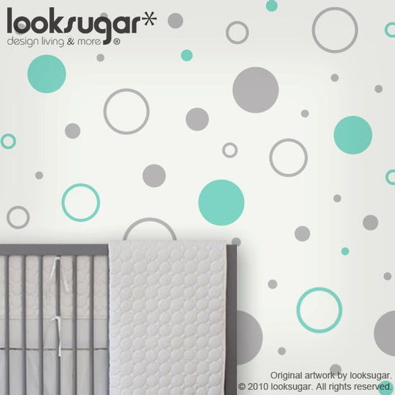 Items Similar To Circle Children Wall Stickers