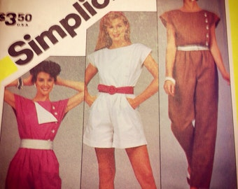 Simplicity 6276 - total valley girl to the max jumpsuit
