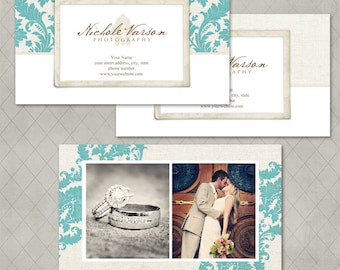 Nichole Business Card Templates for Millers Lab