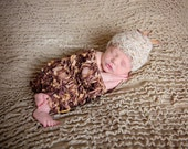 Ready-to-Ship Newborn Hat, Blanket, Headband: RTS Newborn Hat, Blanket, Headband - Baby Children Ready to Ship Newborn Hat