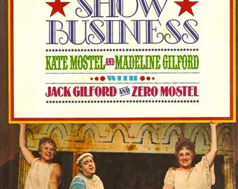 170 Years of Show Business Kate Mostel Madeline Gilford 1978 HC 1st Zero Mostel