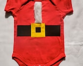 Ho Ho Ho Heiny Santa Christmas Infant 6M - OptionsAbound
