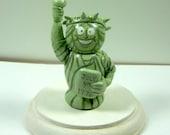 Statue of Liberty Handmade Figure Cake Topper - READY TO SHIP