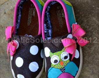 Owl Always Love You Custom TOMS Shoes - Tiny TOMS