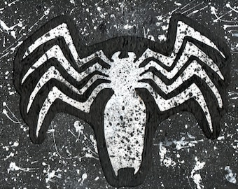 Spiderman, spider symbol, venom wall art