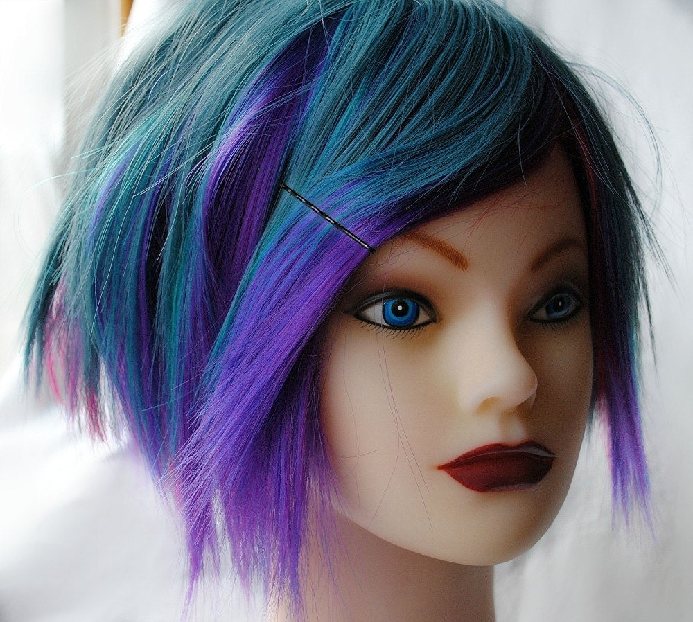 Like this item Bluish Purple Hair
