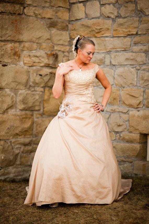 Hollywood Glitz  2-  Bridal Fascinator, Rhinestone Hair clip, Feather Fascinator, Bridal Veil, Wedding Veil, Ivory and Black