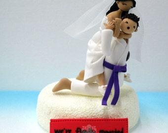 Custom Cake Topper -Jiu-jikJitsu theme -