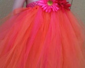 Handmade Flower Girl Tutu Dress