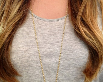 Natural Crystal Point Necklace