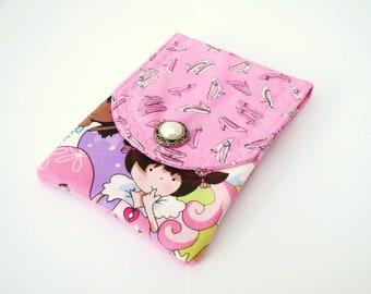 Wallet, Women's Wallet, Handmade Wallet, Pink Wallet