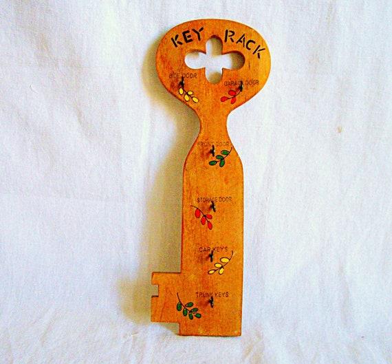Vintage Key Rack
