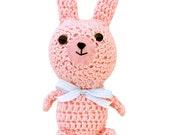 Pink Bunny Rabbit (Crochet Soft Toy)