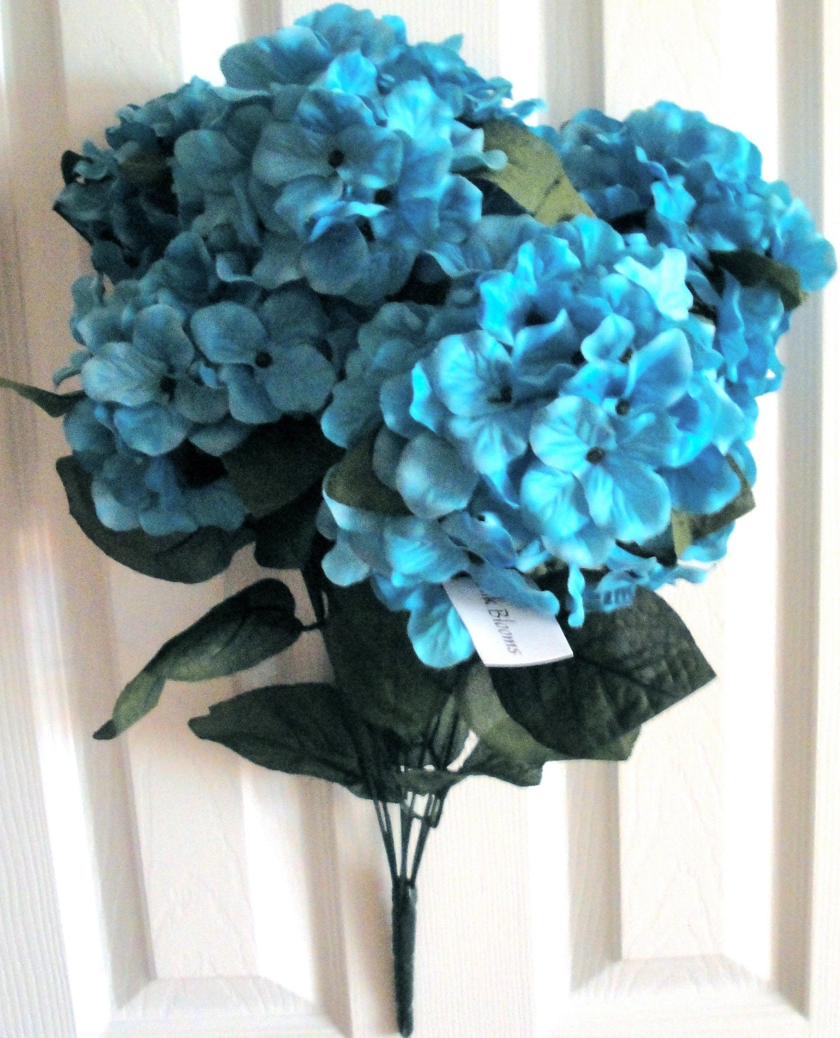 Tanday Luxury Teal Turquoise Hydrangea Bush 23 Inches By