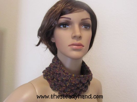 Carnival Nights Crocodile Stitch Headband/Neckwarmer G48