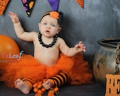Pretty as a Pumpkin Orange Tutu