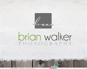 Premade logo for Photographer Logo and Photography Logo Design Name Text Logo