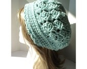 Crochet PATTERN - Tulip Stitch Slouchy Crochet Hat