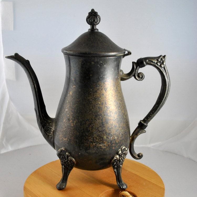 Leonard Silverplate Tea Pot & Leonard silverplate - Lookup BeforeBuying