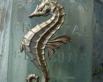 Big Exceptional Seahorse Brass (1 pc)