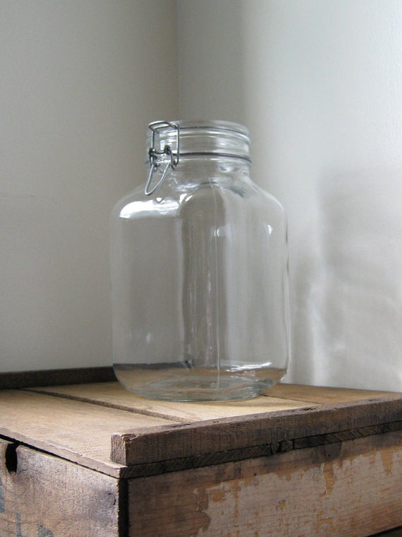 Large Italian Canning Jar