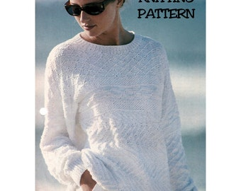 Instant Download PDF Knitting Pattern to make a Womens Thigh