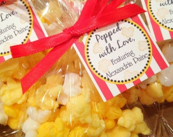 25 POPCORN SOAP FAVORS {Favors} - About to Pop or Cravings Baby Shower Favor, Circus or Carnival Birthday Favor, Bridal Wedding