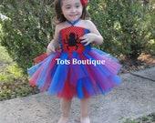 Infant- Spider Tutu Dress Inspired
