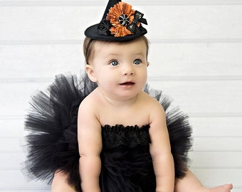 Baby Witch Costume Baby Witch Tutu Baby Girl Halloween Tutu Black Tutu Black Baby Tutu Baby Tutus Baby Girl Tutu Costume Tutu And Witch Hat