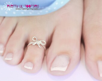 Buy 3, Get One FREE - Bow Toe Ring or Knuckle Ring