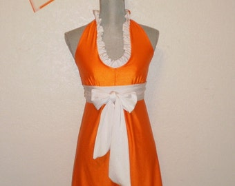 Game day Dress University of Tennessee Colors Medium Only