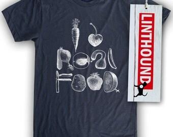 I Heart Real Food Men's/Unisex T-Shirt