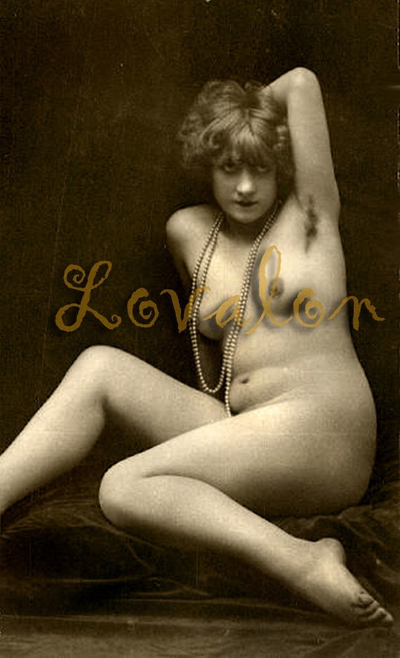MATURE... Bewitching Nude...Vintage Nude Glamour Photo... Deluxe Erotic Art Print... Available In Various Sizes