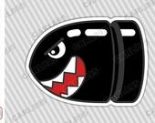 Bullet Bill (A) - Car Truck SUV Vinyl Bumper Sticker