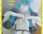 RESERVED FOR KIM- Diaper Cake - Diaper Tricycle with Driver - Baby Shower - Baby Shower Centerpiece- Diaper Cake