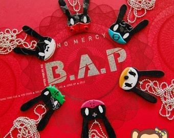 Kpop Necklace - B.A.P Matoki (Your pick: Shishimato, Tatsmato, Kekemato, Jokomato, Dadamato or Totomato)