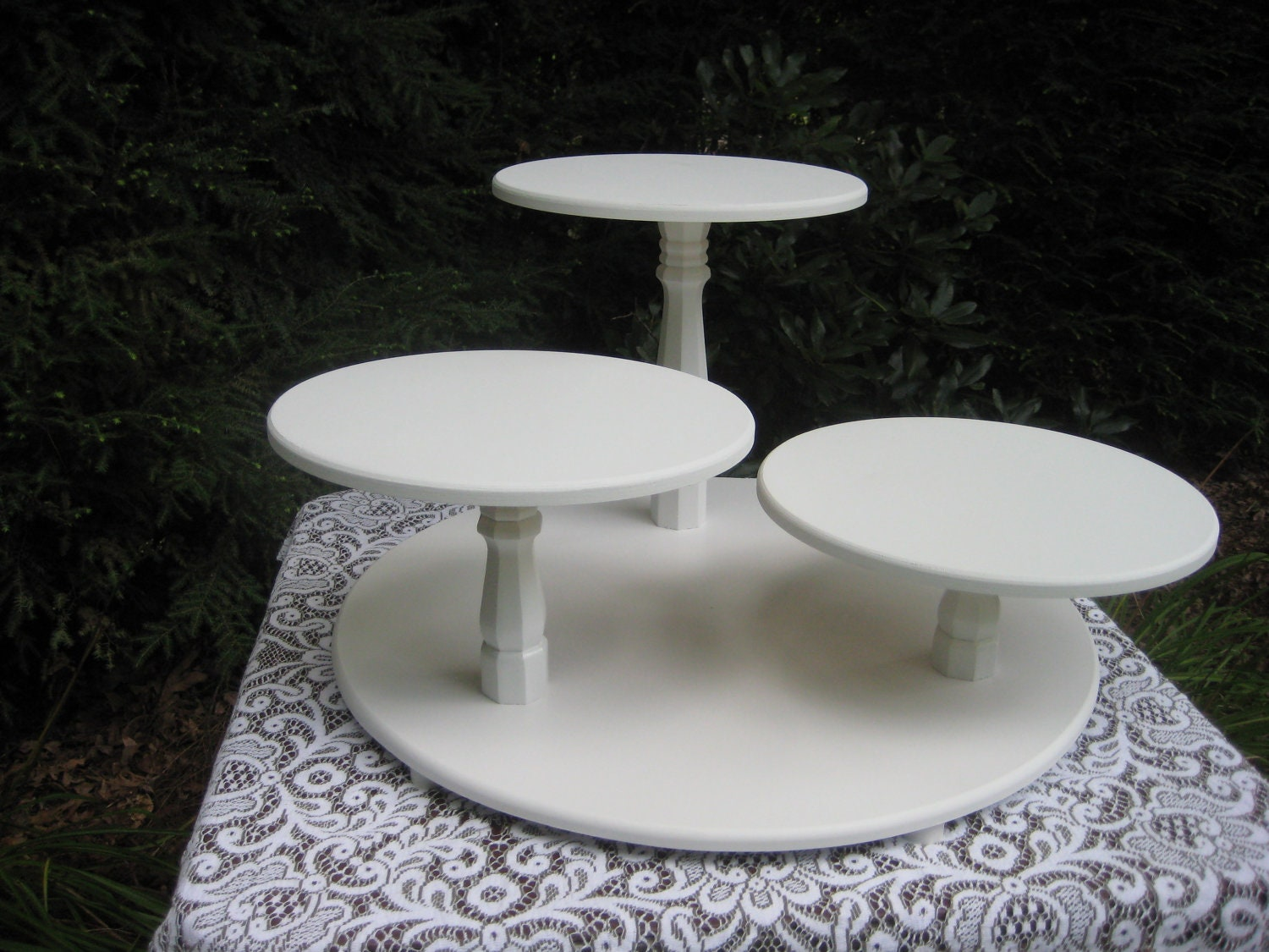 cupcake stand cake stand wedding cake stand by yourdivineaffair. Black Bedroom Furniture Sets. Home Design Ideas