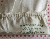 French LEATHER Gloves // Maison Lavabre CADET // Kid-glove // Vintage gloves