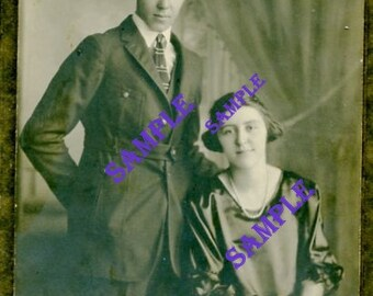 Digital Download-The Newlyweds photo taken way back when