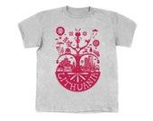 SALE: Lithuanian Myth Ash-gray Tshirt for Kids / Children / Boys / Boy / Unisex / Girls / Girl