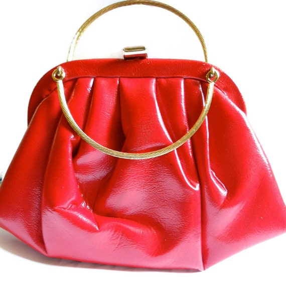 Vintage Garay Purse Lipstick Red 1960s