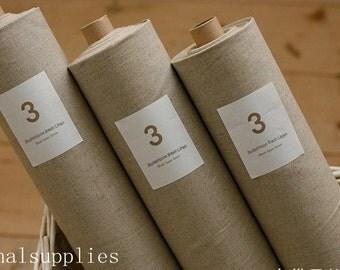 Half Yard Linen Fabric for craft, Pure,diy fabric,garment accessory (G22)