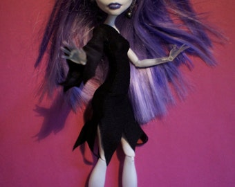 Monster High clothes black witches's dress