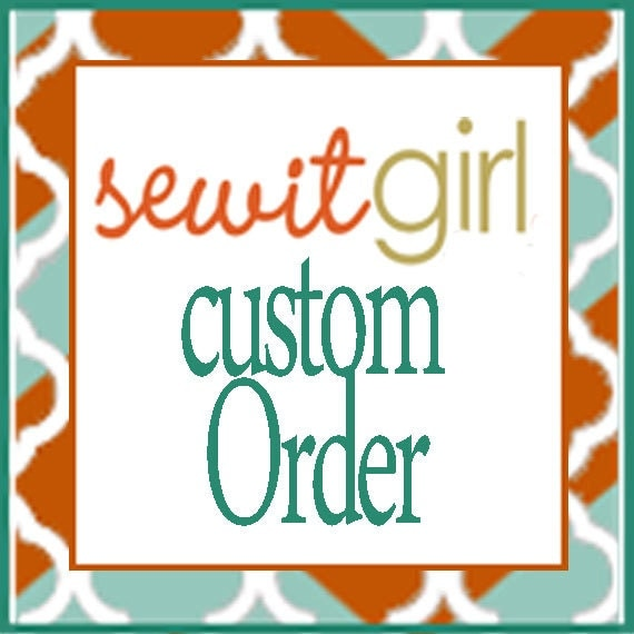 Custom Reserved Listing for Megan
