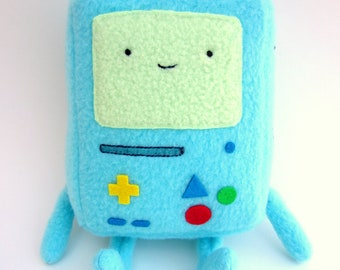 Adventure Time BMO Plush -- Cute Detailed Stuffed Beemo