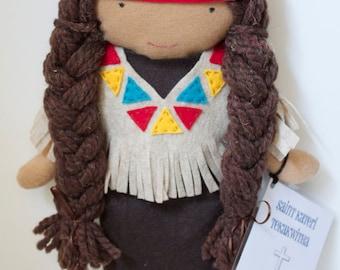 Saint Kateri Tekakwitha Felt Doll