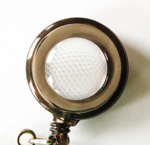 Golf Badge Holder, ID Badge Holder, Retractable id, Badge clip, Badge Reel, Retractable id, Sports, Golf