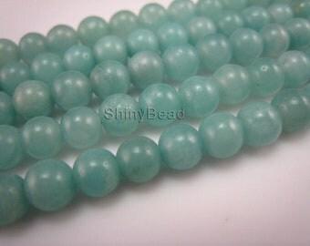 Chinese amazonite round bead 6mm 15 inch strand